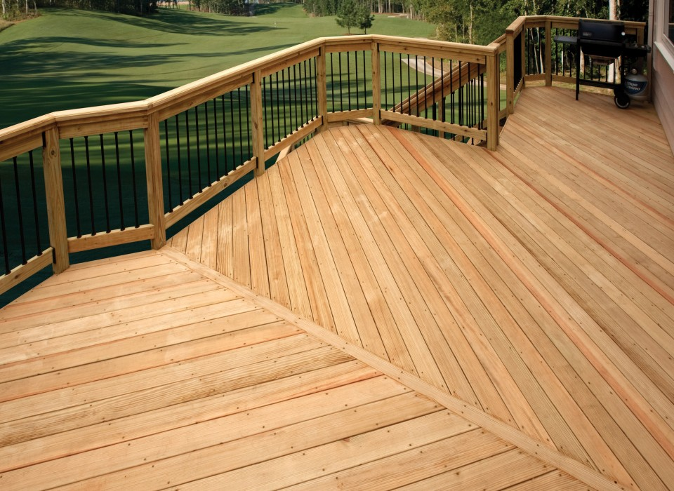 4 reasons to build your deck with southern yellow pine for What is the best wood for decking