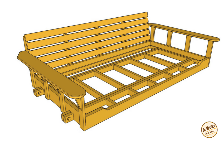 porch daybed plans build a porch bed swing plans and video how to wood its real