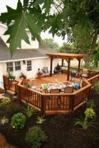 southern yellow pine wood decking
