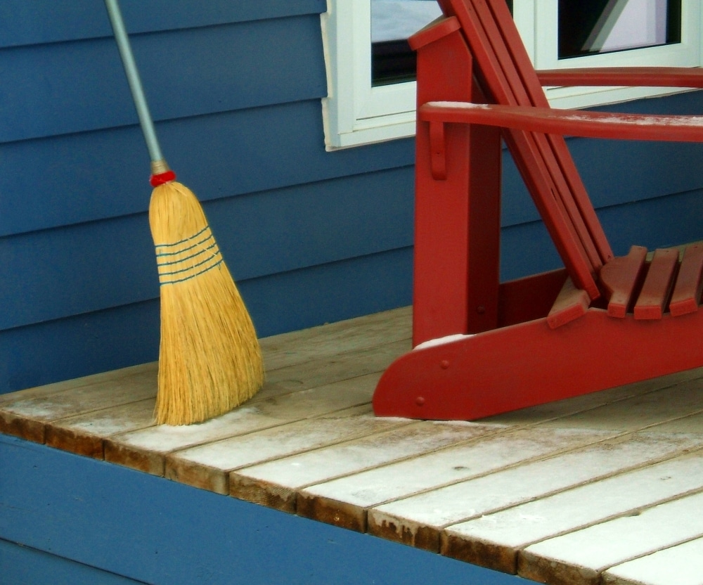Decking 101 stain vs paint vs seal wood its real wood dust on deck baanklon Gallery