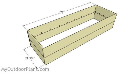 Back Ache Be Gone Waist High Raised Garden Bed Plan Wood It S