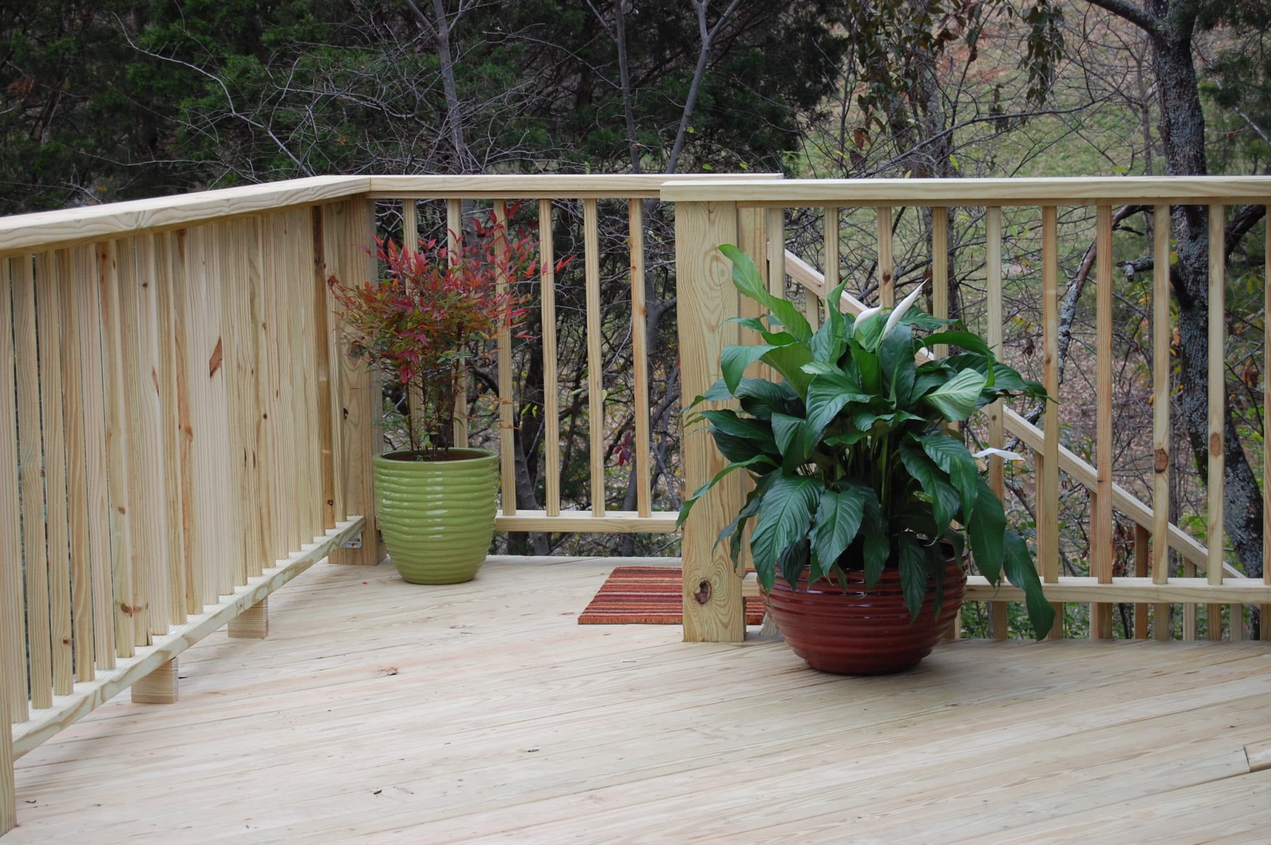 10 things to do when building a diy deck wood it 39 s real for Things to consider when building a deck