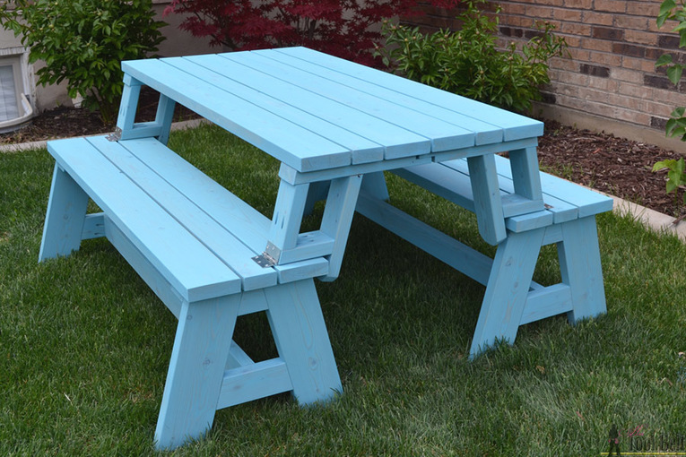 Fine Build It Convertible Picnic Table And Bench Wood Its Dailytribune Chair Design For Home Dailytribuneorg