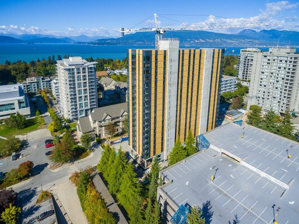 tall wood building UBC