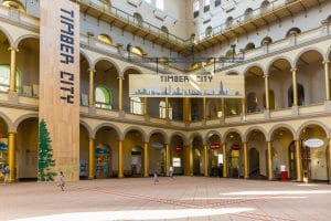 Timber City at the National Building Museum
