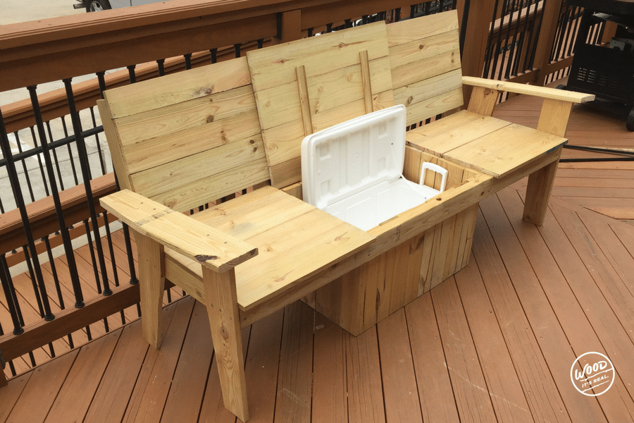 Build It: The Most Amazing Cooler Bench Ever | Wood. It's ...