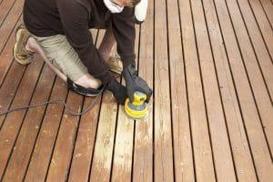 deck sanding