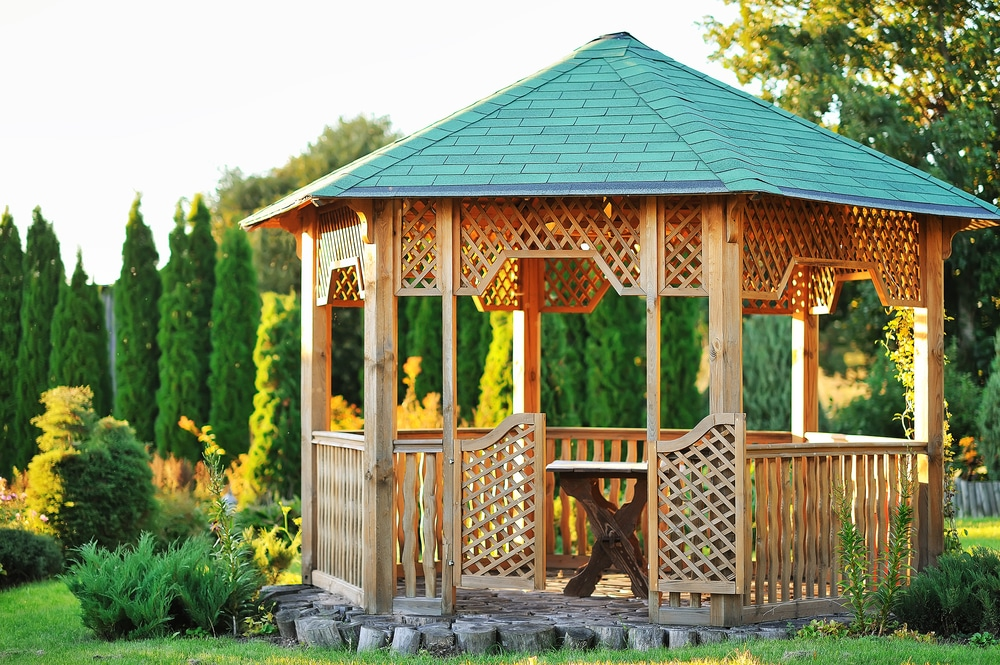 Southern Yellow Pine Gazebo Maintenance Tips from Wood. It's Real.