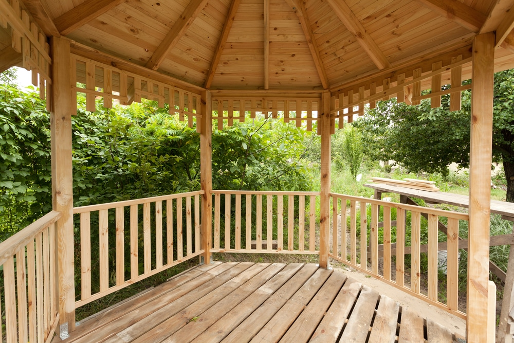 Southern Yellow Pine Gazebo Maintenance Tips from Wood. It's Real.