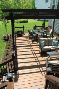 Southern Yellow Pine deck